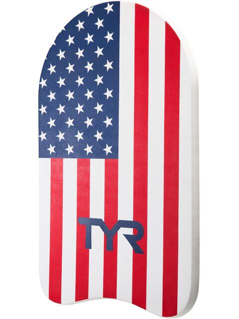 TYR Classic USA czerwony/biały